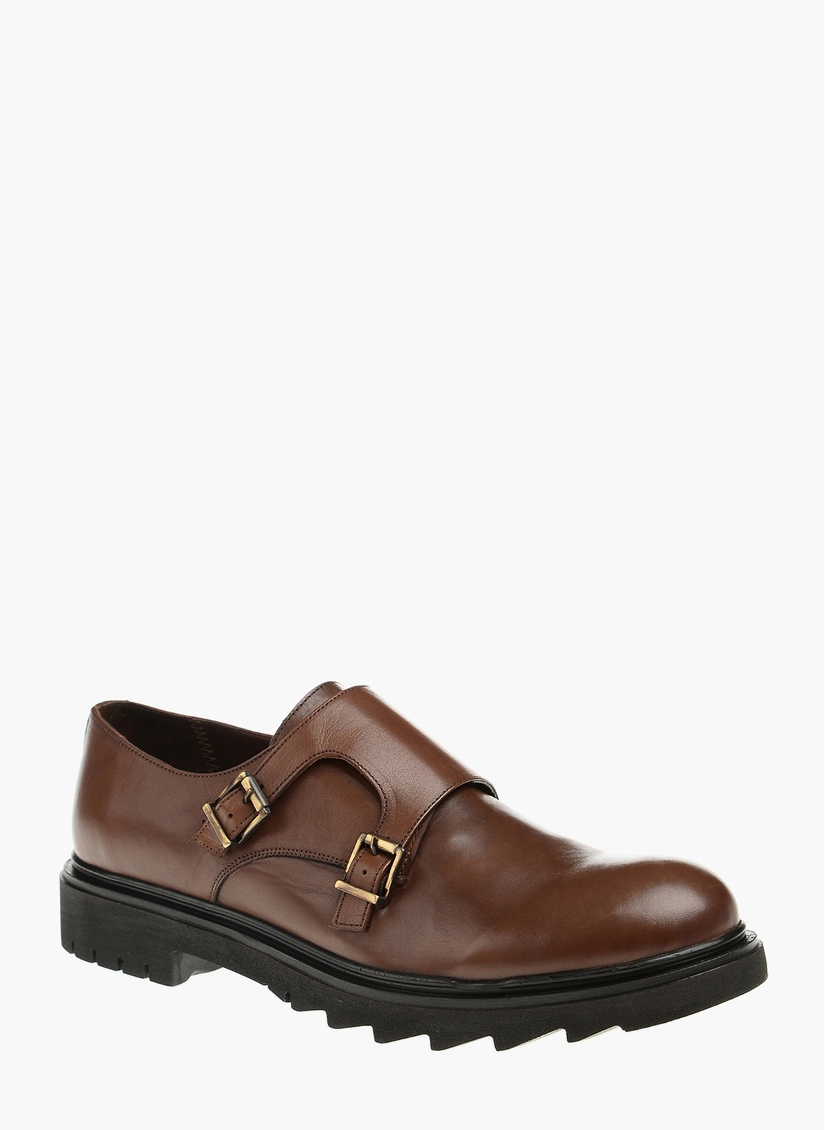 Divarese Çift Tokalı Deri Ayakkabı 5022075 E Ayakkabı – 182.7 TL